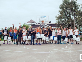 The second annual tournament streetball VodograyCUP